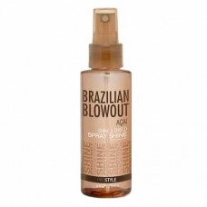 Защитный спрей-блеск Shine Spray Solution Brazilian Blowout